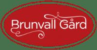 Brunvall Gård logo med transparet bakgrunn